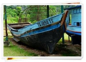 Batam Former Vietnamese Refugee Camp Boat
